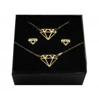Złoty Komplet DIAMENT