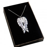 Srebrny naszyjnik WINGS - skrzydła anioła
