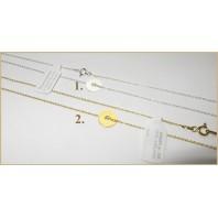 Złoty Naszyjnik KRĄŻEK OBRĘCZ CELEBRYTKA 40 cm
