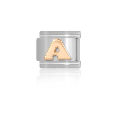Złota literka A