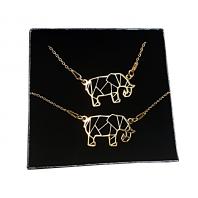 Komplet słoń ORIGAMI CELEBRYTKA złoty