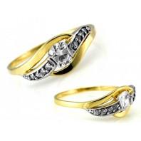 Złoty pierścionek FALIS 585 rozmiar 16