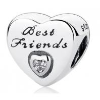 Koralik CHARMS BEADS - Serce - Best friends