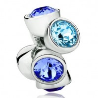 Koralik CHARMS BEADS - Blue Aqua & Sapphire