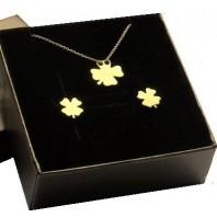 Komplet biżuterii CELEBRYTKA - złota KONICZYNKA