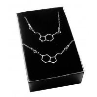 Srebrny komplet biżuterii CELEBRYTKA - SEROTONINA